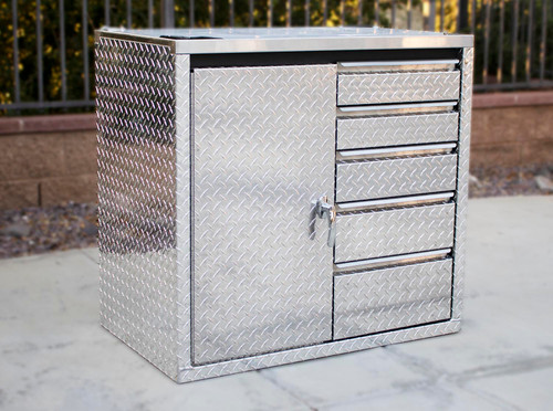 """36 """" Base Cabinet with Door and Drawer Combination"""