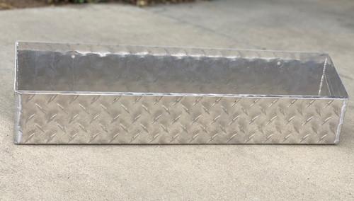 Diamond Plate Wall Mount Tray