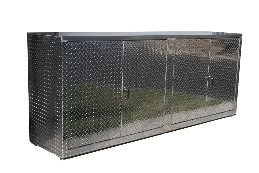 Diamond Plate Base Cabinets