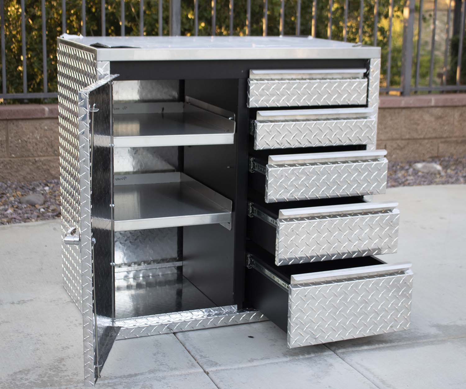 Stainless Steel Shop Carts
