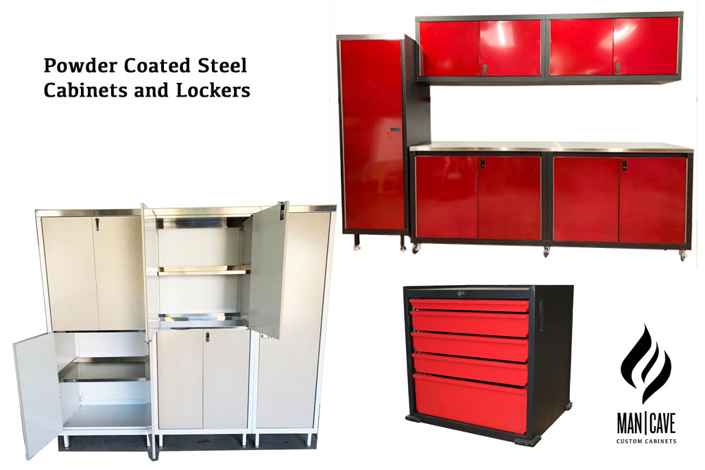 Cabinets for Garages, Industrial Shops and Hobbyists