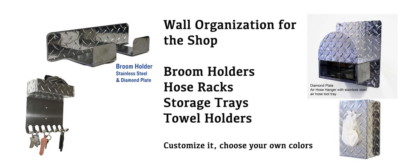 Garage Organization, Shop Accessories