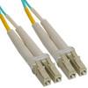 OM3 LC to LC Multimode Duplex Fiber Optic Cable - 7 meters