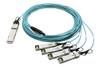 QSFP-4X25G-AOC5M-FL Cisco Compatible QSFP28-4xSFP28 AOC (Active Optical Cable)