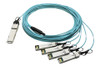 QSFP-4X25G-AOC10M Cisco Compatible QSFP28-4xSFP28 AOC (Active Optical Cable)