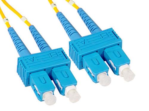 SC to SC Singlemode Duplex Fiber Optic Cable