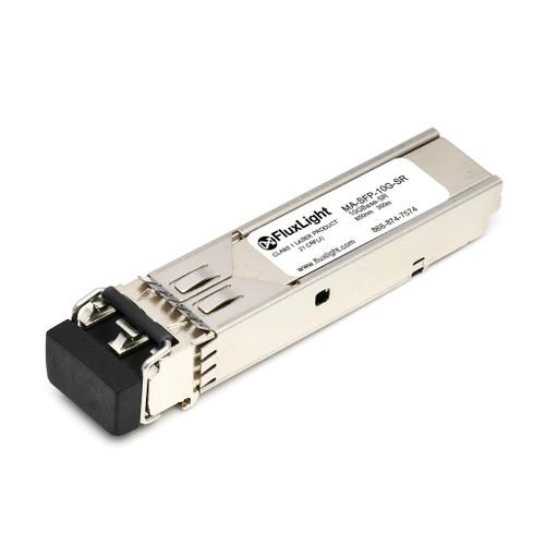 Meraki MA-SFP-10GB-SR-FL (10GBase-SR SFP+, 850nm, 300m, MMF, DDM) Optical Transceiver Module. Best Pricing for Data Center Optics, Enterprise Network, Telecom and ISP Network Optical Transceivers | FluxLight.com