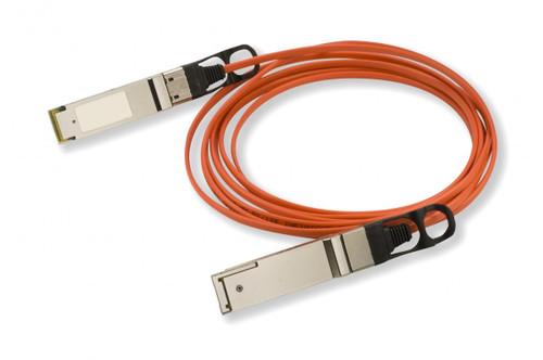 CBL-QSFP-40GE-15M-FL Force10 Compatible QSFP+-QSFP+ AOC (Active Optical Cable)