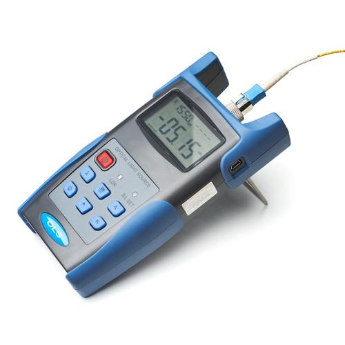 Handheld Fiber Optical Light Source (1310/1550nm) with 2.5mm FC/SC/ST Connector - FL-OLS-1315