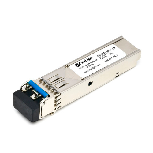 Juniper EX-SFP-10GE-LR (10GBase-LR SFP+, 1310nm, 10km, SMF, DDM) Optical Transceiver Module. Best Pricing for Data Center Optics, Enterprise Network, Telecom and ISP Network Optical Transceivers | FluxLight.com