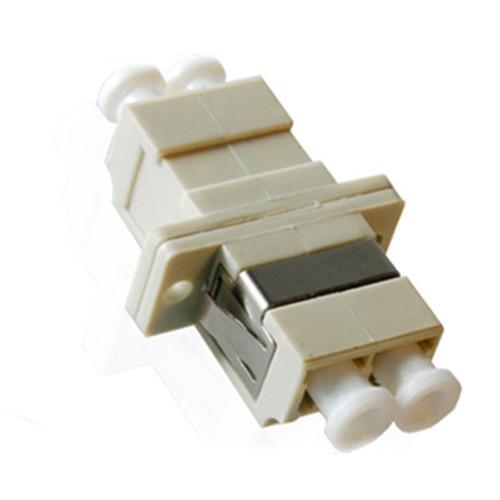 LC to LC Duplex Metallic Sleeve Fiber Optic Adaptor