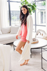 Luxe Cardi-Robe in Cream