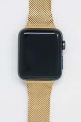 Apple Watch Mesh Strap in Champagne