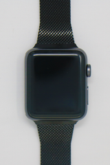 Apple Watch Mesh Strap in Jet Black