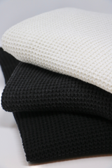 Rossland Knit Pullover Sweater in Black