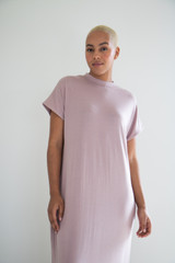The Miles Midi Dress in Rustic Rose