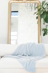 Luxe Heavyweight Blanket in Ocean