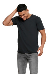 A Short sleeved t-shirt with a classic O-neck in a range of solid colors, perfect for adding to your collection of basics for easy, comfortable wear.