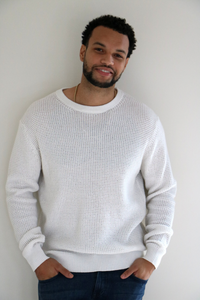 Rossland Knit Pullover Sweater in Soft White