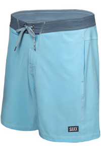 These 2N1 board shorts combine a Slim Fit liner over a fixed-waist shell. The integrated liner is form-fitting through the butt and thighs. Betawave is the first-ever board short equipped with the BallPark Pouch™, providing unreal support in and out of the water.