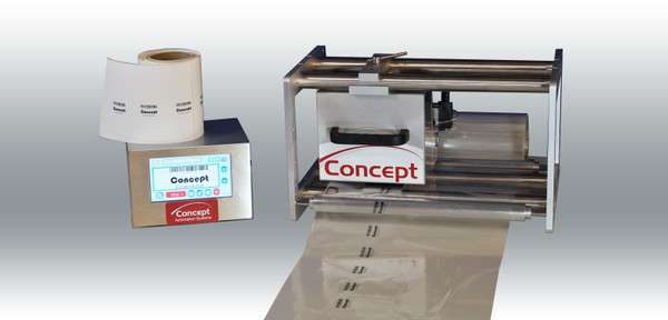 D01 Intermittent & Continuous mode combined Thermal Transfer Overprinter 32mm Print Head