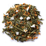 Genmaicha Japanese Green Tea blended with Roasted Rice and Popcorn