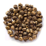 Organic jasmine pearls green tea an energizing refreshing drink