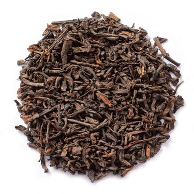 Pu Erh Earl Grey Rich Tea Brewed From Pu-Erh Leaves