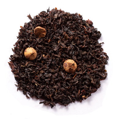 Chocolate Tea Blended With Black Tea and Chocolate Pieces