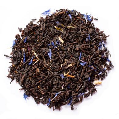 Organic Earl Grey De La Crème Blend Of  Organic Black Tea And Blue Cornflower Petals
