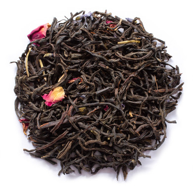 Vintage earl gery with hints of rosemary and rose petal