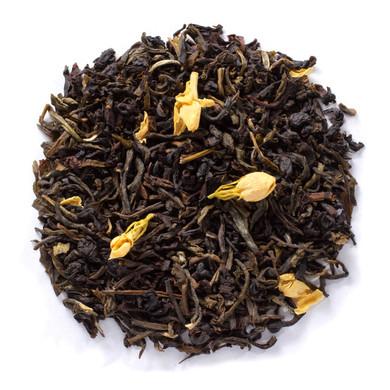 Jasmine Black Cream green and black teas with jasmine flowers