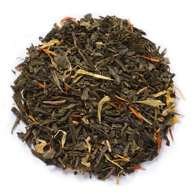 Ginger Orange Peach Green Tea