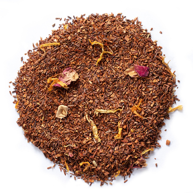 Organic rooibos evening jewel with sweet fragrance and delightful taste