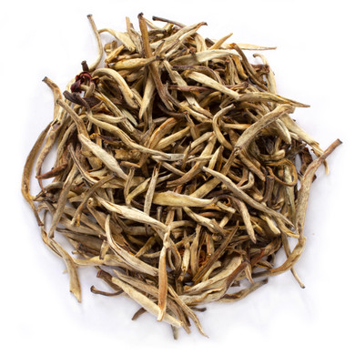Organic Silver needle jasmine is a delicate Chinese white tea