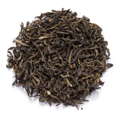 Jasmine monkey king blended tea with hints of green tea and a touch of Jasmine
