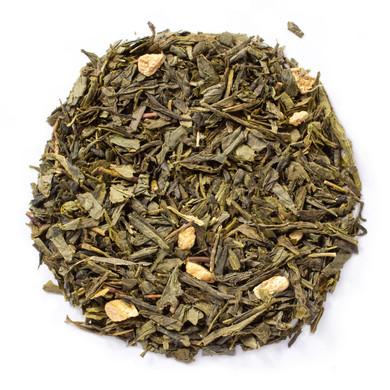 Pure organic green peach green tea