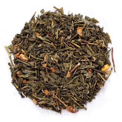 Lemon green tea offers the benefits of green tea and the refreshing flavor of lemon