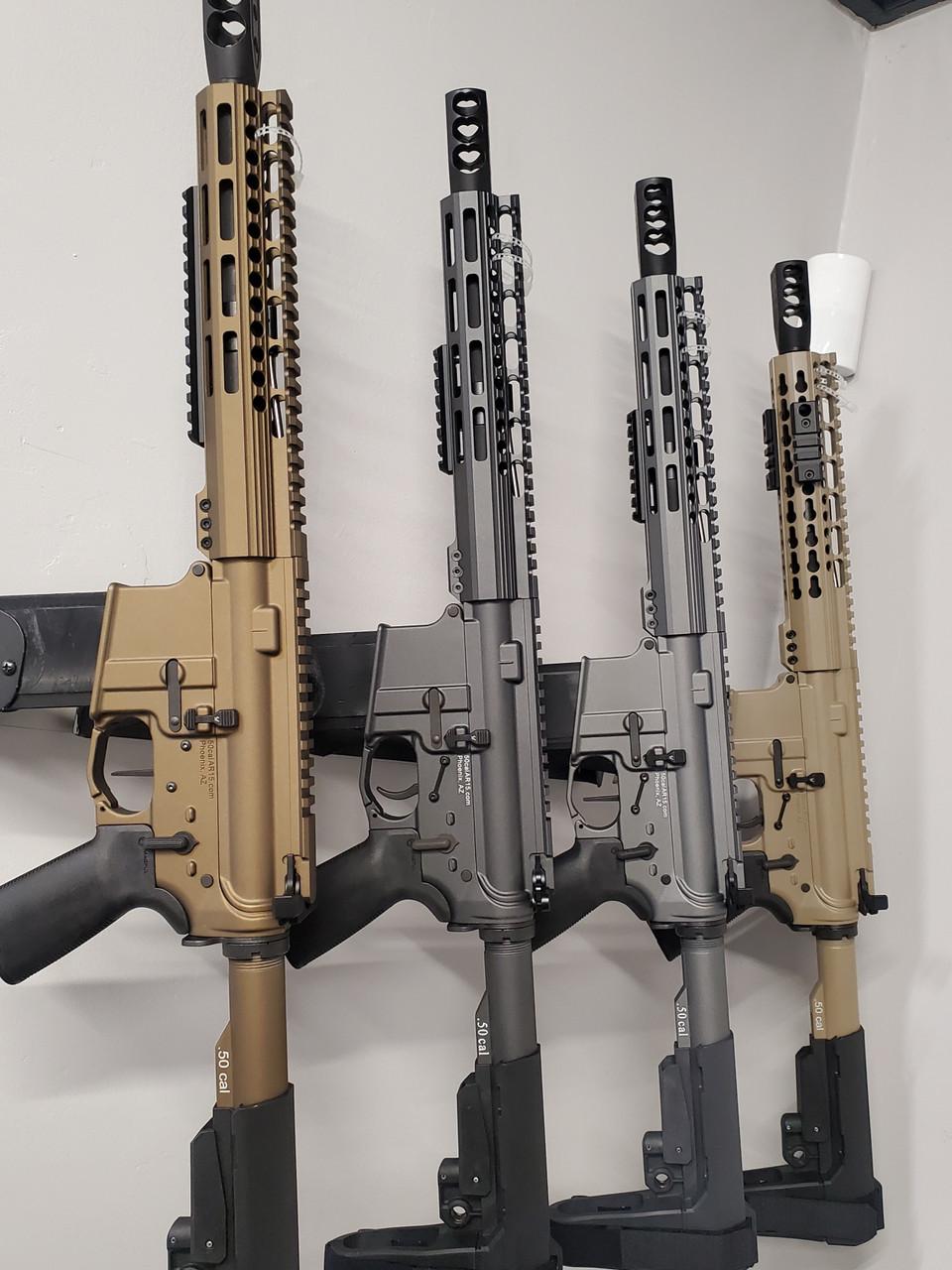 "10"" 50 cal AR-15 Pistols"