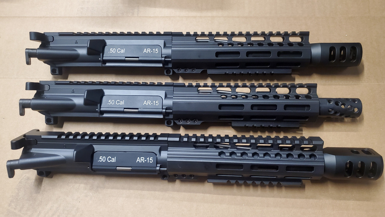 50 cal AR-15 COMPLETE UPPERS