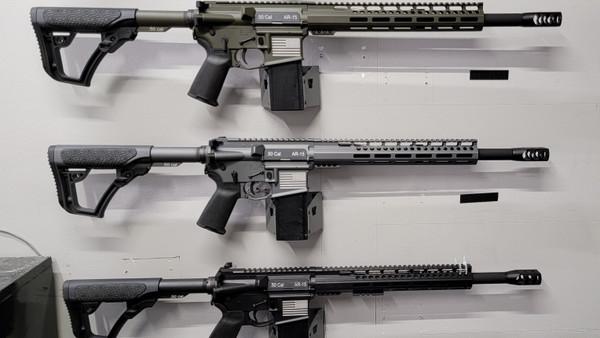 50 cal AR- 15 RIFLE