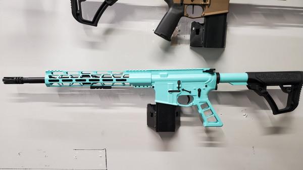 Tiffany Blue AR-15 RIFLE