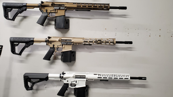 OUR UPGRADED  AR-15 (DECKED OUT)