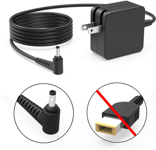45W IdeaPad AC Charger Fit for Lenovo ADL45WCC GX20K11838 ADP-45DW B 100 110 110S 120 120S 130 130S 310 320 330 330S 320S Yoga 710 710-11 710-14 710-15 PA-1450-55LL Laptop Power Cord Supply Adapter