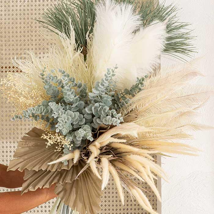 Dried Fan Palm stem, Coral grass stem, wild bamboo stem, wild grass stem | Pillow Talk
