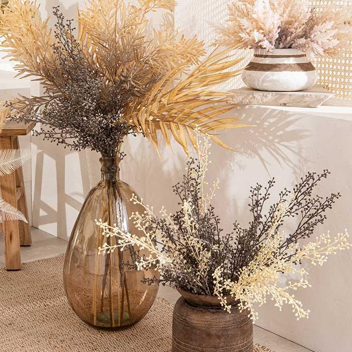 Dried berry stem, wild bamboo stem, wheat grass bush | Pillow Talk