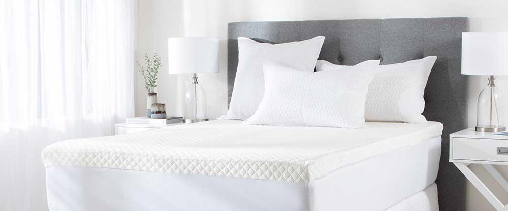 Memory Foam Mattress Topper   Pillow Talk
