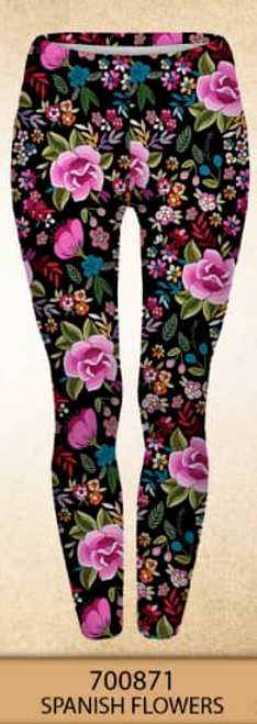 Vibrant Floral. Stunning in person! You'll loved them.