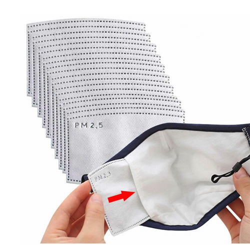 20 filters for olson style mask with filter pocket