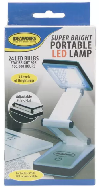 Portable, Collapsible LED Super Lights
